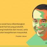 Arahan Presiden Jokowi tentang Medsos
