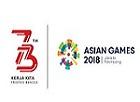 logo 73 tahun dan asian games