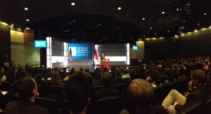 Presiden SBY beri kuliah umum di GWU, AS