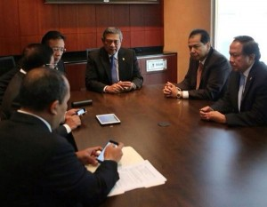 Saat transit di Seattle pun, Presiden SBY bahas UU Pilkada