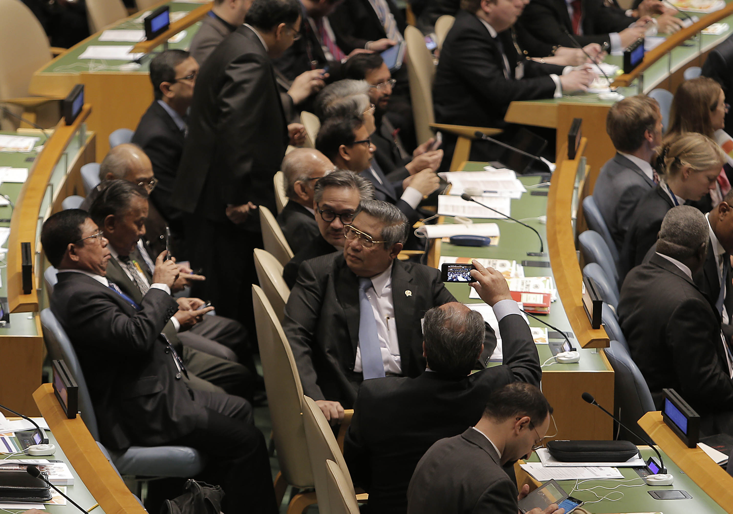 Sidang Climate Change UN-sby-abror
