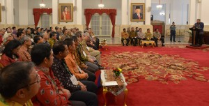 Peringatan Hari Habitat Sedunia 2014, di Istana Negara, Jakarta, Jumat (3/10)