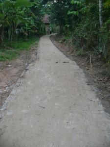 Jalan paving blok