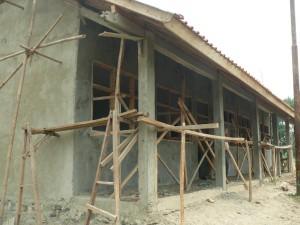 Pembangunan madrasah diniyah dibiayai PNPM Mandiri tahun 2014