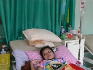 Salah satu pasien operasi cesar