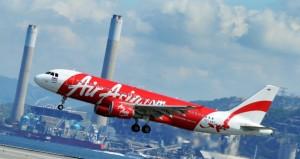 An AirAsia Airbus passenger plane comes