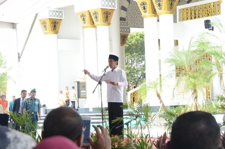 Peresmian Mesjid