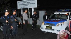 Suasana di Pulau Nusakambangan jelang eksekusi mati lima terpidana narkoba, Minggu (18/1) dinihari