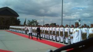 Yang Dipertuan Agong Malaysia Gelar Jamuan Kenegaraan Untuk Presiden Jokowi