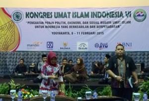 Suasana Kongres Umat Islam Indonesia VI, yang berlangsung di Yogyakarta, 8-11 Fabruari 2015