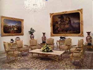 Foto. 2. Ruang Raden Saleh Istana Merdeka (Sumber: Bagian Pengelolaan Seni Budaya dan Tata Graha, Sekretariat Presiden)