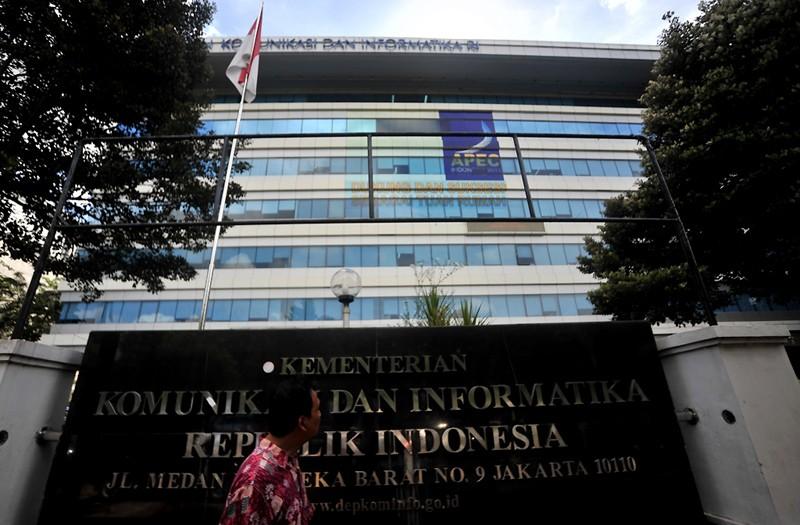 Kantor Pusat Kementerian Informasi dan Komunikasi RI