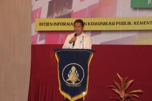Menkominfo Rudiantara dalam forum Bakohumas, di Palembang, Sumsel, Selasa (9/6)