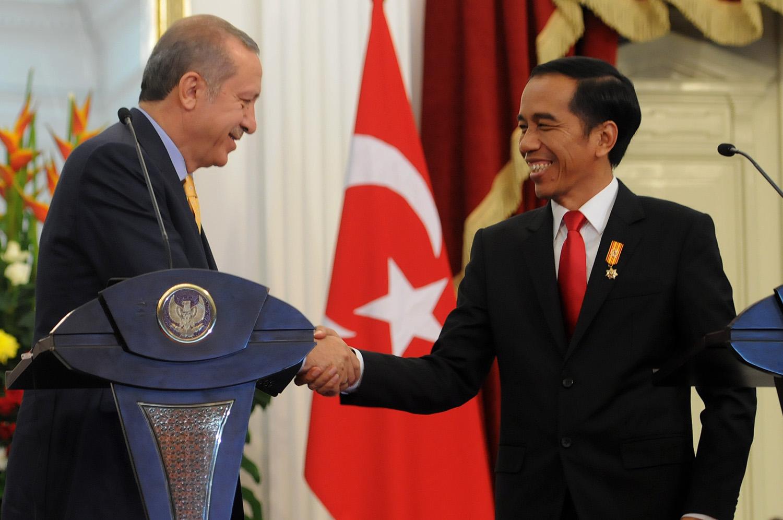 Image result for jokowi erdogan