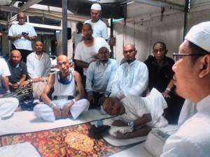 Menag Lukman Hakim Saifuddin mengunjungi jemaah haji Indonesia