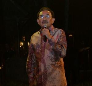 Waseskab Bistok Simbolon memberikan sambutan pada pembukaan Rapat Koordinasi Implementasi Kebijakan Pemerintah, di Hotel Novotel, Bogor, Minggu (25/10) malam