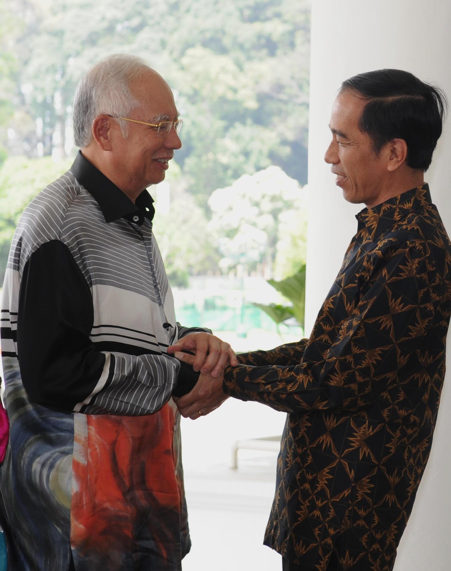 PM Malaysia - Jokowi