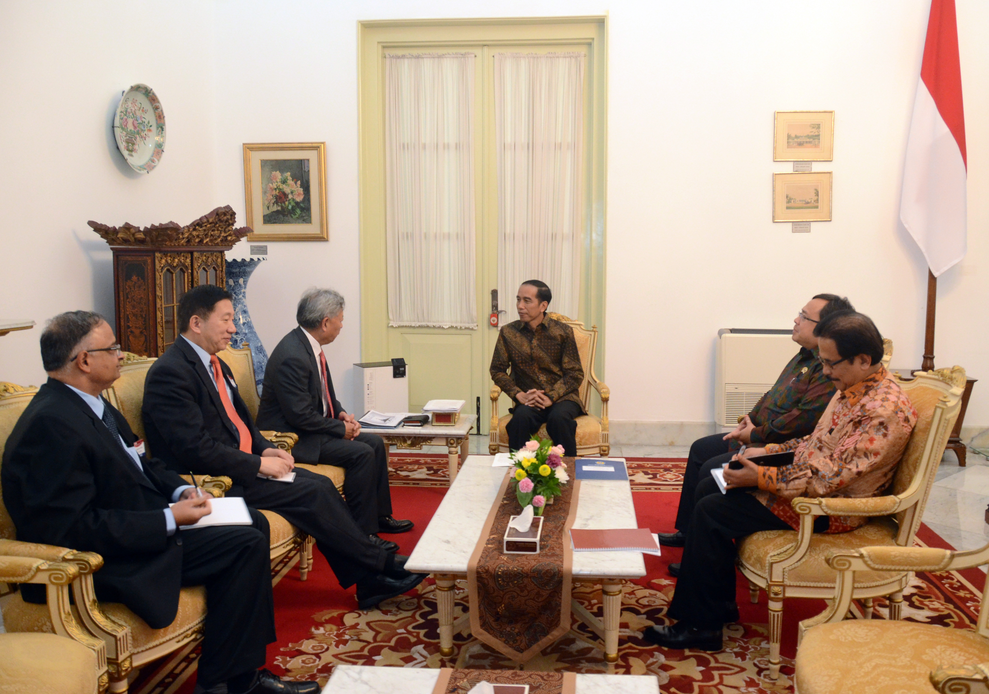 Image result for jokowi aiib