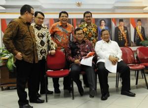 Kepala Badan POM Roy Alexander Sparingga turut hadir dalam pengumuman Paket Kebijakan Ekonomi VI