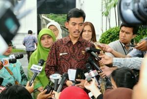 Ketua KPAI seusai bersama pengurus KPAI lainnya diterima Presiden Jokowi, di Istana Negara, Jakarta, Selasa (12/1) pagi.(Foto:Humas/Jay)