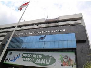 Kantor Kementerian Ketenagakerjaan RI
