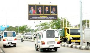 Timor Leste menyambut kedatangan Presiden Joko Widodo dan Ibu Negara Iriana Jokowi (25/1). (Foto: Humas/Rahmat)