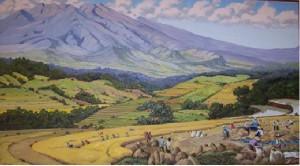 Pemandangan Gunung, Yap Thian Tjay (Sumber: Bagian Pengelolaan  Seni Budaya dan Tata Graha, Sekretariat Presiden)