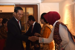 Presiden Jokowi tiba di Palm Spring, California, Amerika Serikat Pukul  17.49 waktu setempat (14/2). (Foto:Humas/Uni)