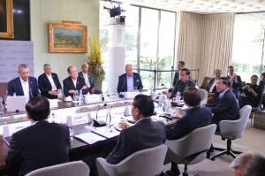 Presiden Jokowi pimpin diskusi kontra terorisme di KTT AS-ASEAN, California, Amerika Serikat. (Foto/BPMI/Laily)