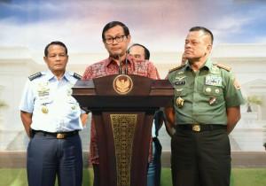 Keterangan Pers setelah Ratas TNI 02