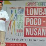 Menteri Pemuda dan Olahraga, Imam Nachrawi