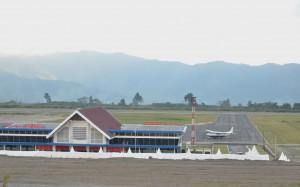 Bandara Rembele, Gampong Bale Atu, Kecamatan Bukit, Kabupaten Bener Meriah, Provinsi Aceh. (Foto: Humas/Rahmat)