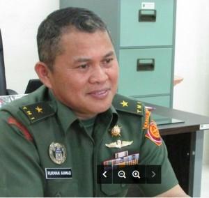Kepala Kanhan Kaltim Brigjen TNI Rukman Ahmad