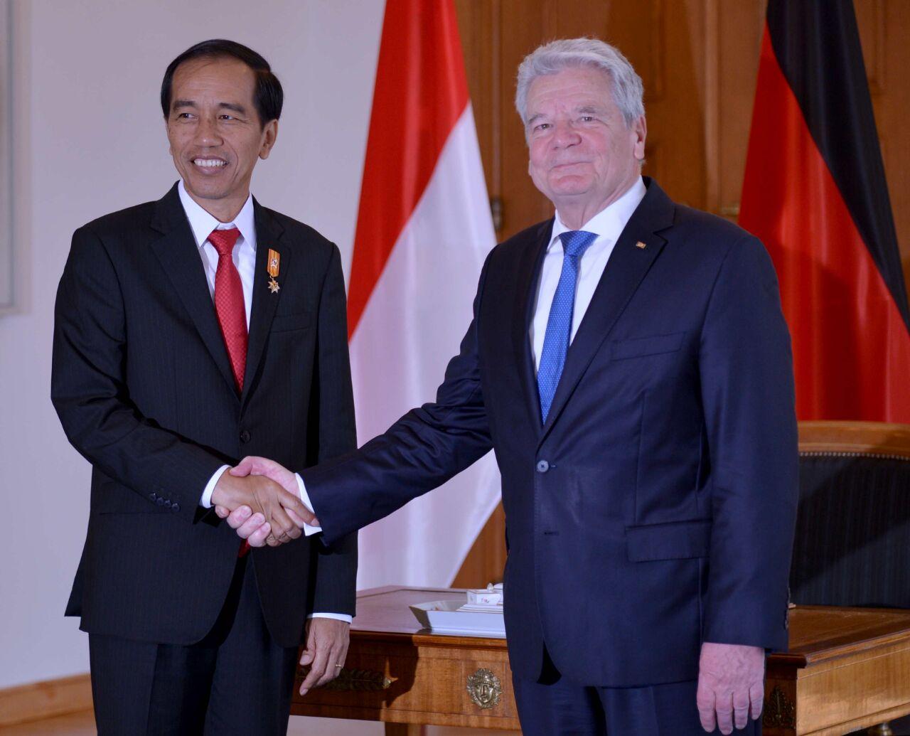 April 2016 sekretariat kabinet republik indonesia page 4 president jokowi meets german president 184 reheart Choice Image
