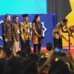 Presiden Jokowi membuka Konvensi Nasional Indonesia Berkemajuan, di UMY Yogyakarta, Senin (23/5) siang. (Foto: Rahmad/Humas)