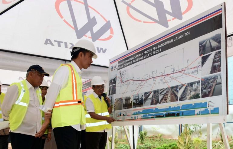 Peninjauan Tol Layang Bekasi-Cawang-Kampung Melayu (21/6)