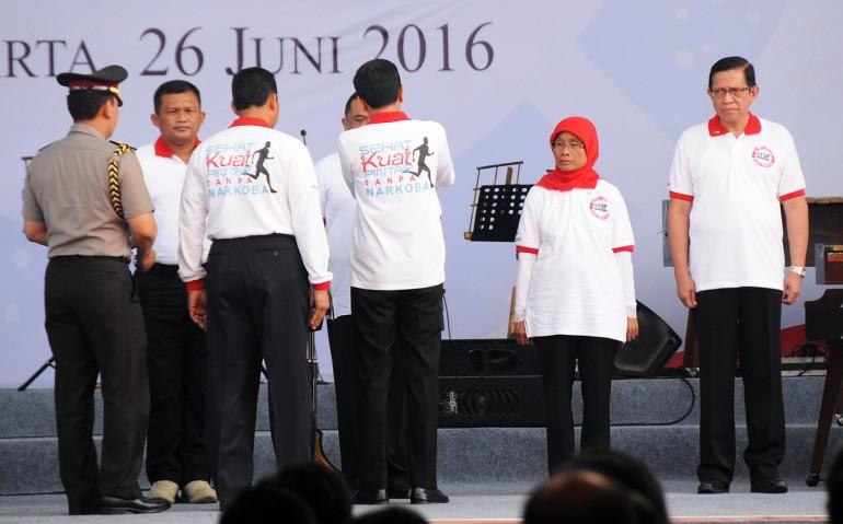 Puncak Peringatan Hari Anti Narkotika Internasional (HANI) Tahun 2016 (26/6)