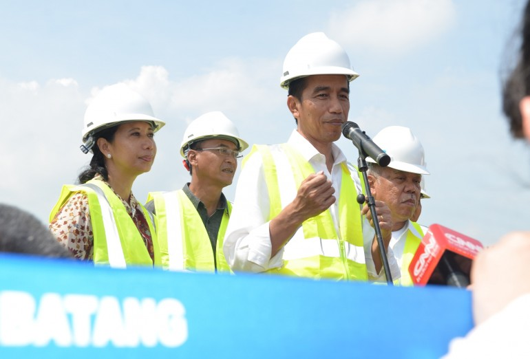 Groundbreaking Ruas Tol Pemalang-Batang-Semarang (17/6)