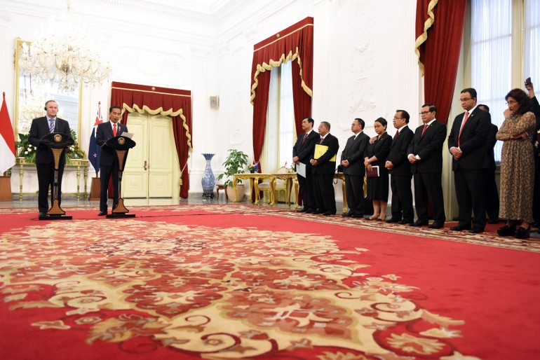 Tamu PM Selandia Baru Jhon Key