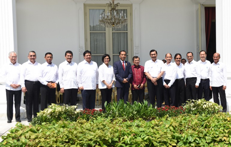 Pengumuman Reshuffle Kabinet Kerja