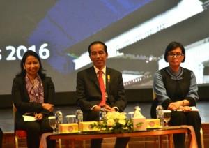 Presiden Jokowi saat menyampaikan tax amnesty di Bandung (8/8). (Foto: Humas/Fitri)