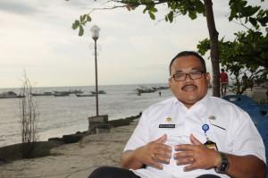 Asisten Administrasi Pemerintahan Kabupaten Bengkulu Utara, Sahat Marulitua Situmorang saat diwawancara, Kamis (11/8) sore, di Bengkulu Utara. (Foto: Humas/Jay)