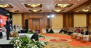 Presiden Jokowi saat memberikan arahan tentang tax amnesty di hotel Patra Jasa, Semarang, Jawa Tengah (9/8). (Foto: Humas/Oji)