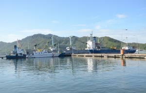 Pelabuhan Sambas, Sibolga, Sumatera Utara. (Foto: Humas/Deni)