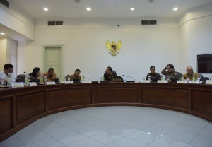 President Jokowi led a limited meeting on General Election Bill on Tuesday (13/9), at the Presidential Office, Jakarta