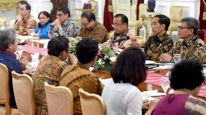 President Jokowi has a dialog with legal experts and practitioners on Thursday (22/9), at the Merdeka Palace, Jakarta