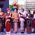 pada acara Anugerah PAUD Tingkat Nasional Tahun 2016, di Gedung Sasono Langen Budoyo, Taman Mini Indonesia Indah (TMII) Jakarta, Senin (29/9) pagi.