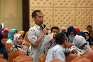 Sosialisasi Kesehatan Mata di Lingkungan Sekretariat Kabinet RI, Aula Geduang III, Rabu, 28 September 2016.