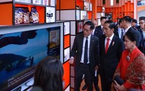 Presiden Jokowi mengunjungi Alibaba Group Corporate Campus, Jumat (2/9), di Distrik Yu Hang, Hangzhou, RRT. (Foto: BPMI)