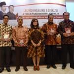 Peluncuran Buku di Aula Gd III Kemensetneg, Jakarta, Jumat (21/10) sore. (Foto: Humas/Deni)